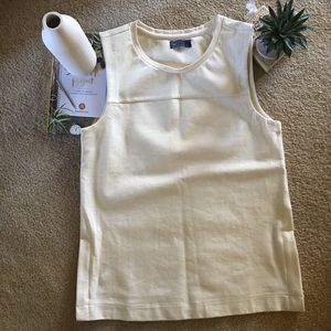 Gap Ponte Side Zip Top.